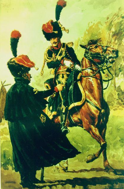 Les chasseurs à cheval de la Garde 834288CCGI2