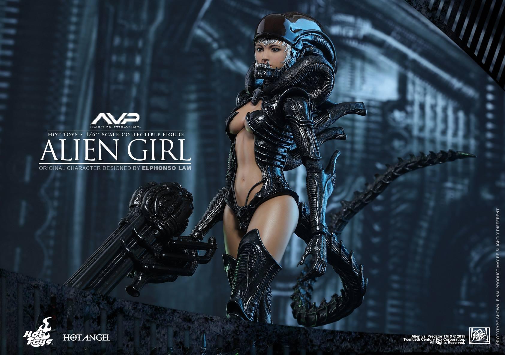 HOT TOYS - AVP - Alien Girl 834632112
