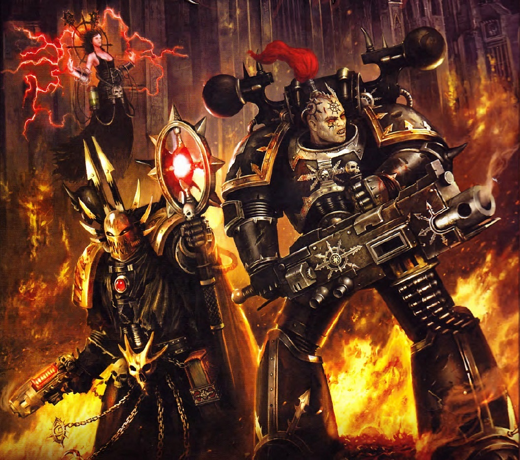 [W40K] Collection d'images : Space Marines du Chaos - Page 3 835850BlackLegionnaireChaosSorceror
