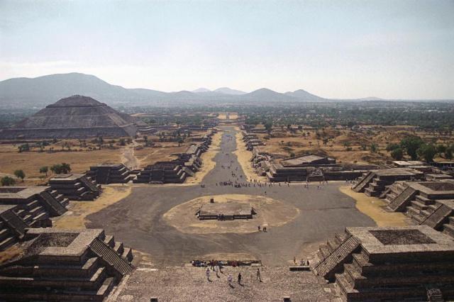 Teotihuacán, une ville à l'image du Cosmos 836472641