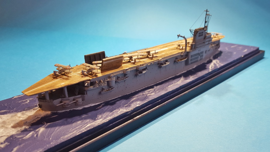 Porte Avions Béarn HP Models au 1/700 ème - Terminé 83721820170226170518