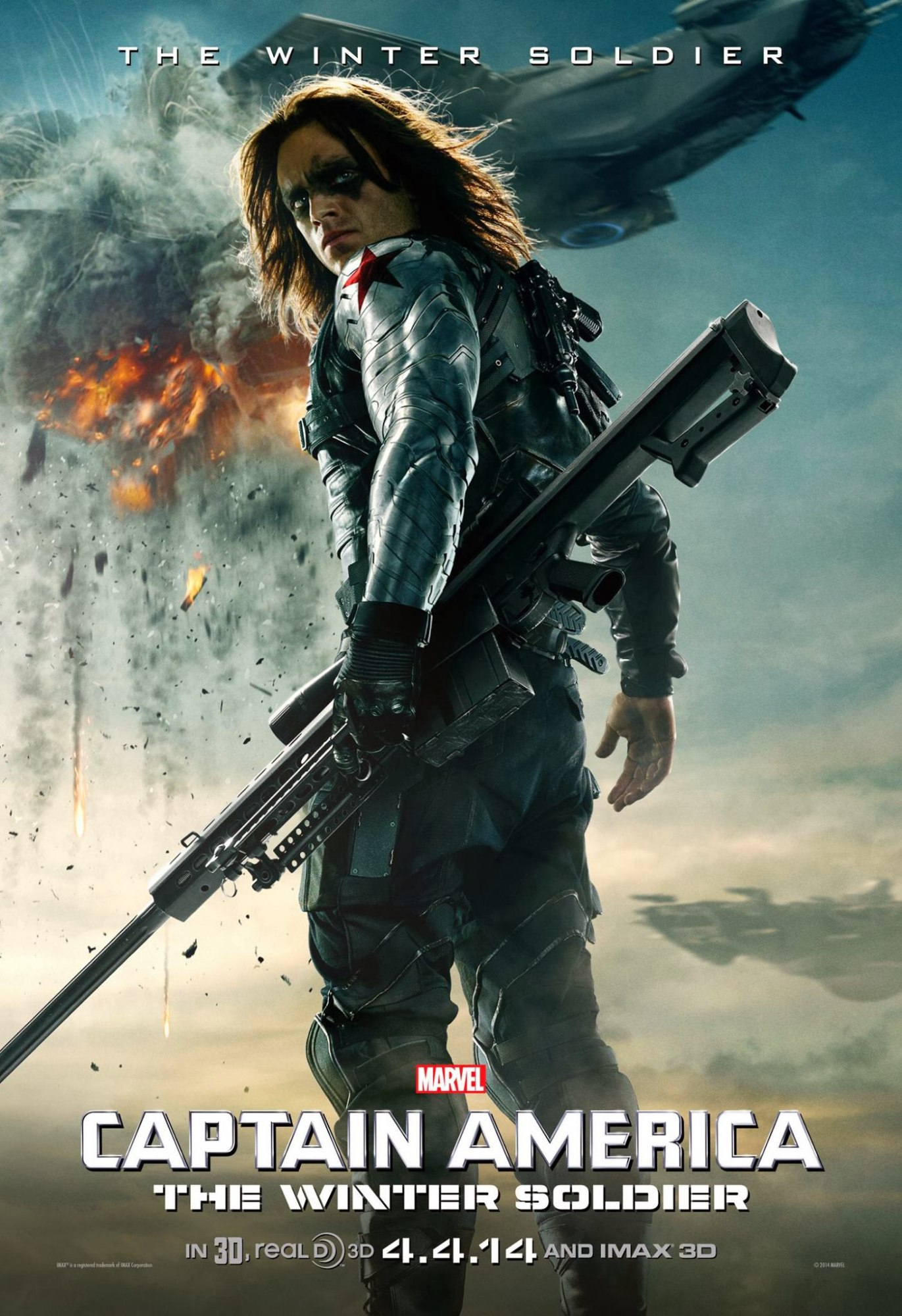 Captain America : The Winter Soldier 838232Posters19