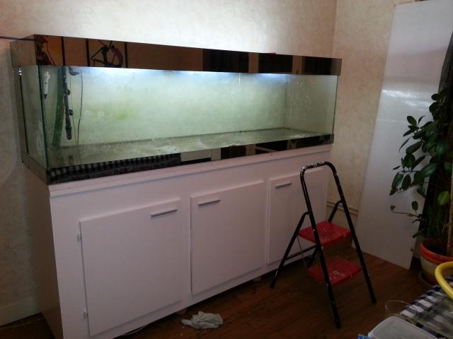 Construction d'un meuble en Chevrons de 8x8 pour bac 200cm 838747IMG20131229192326