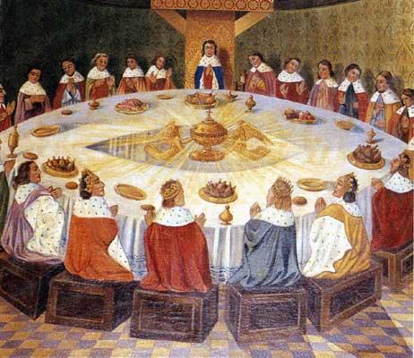 Background officiel des Chevaliers de la Table Wonde 840142tableronde