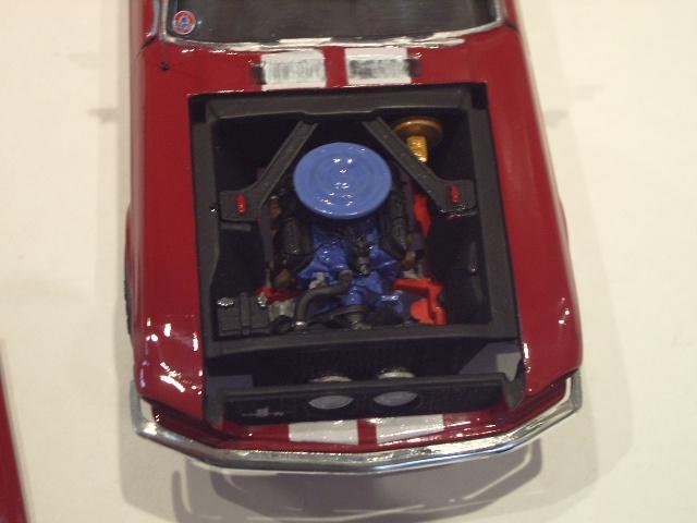 mustang shelby 350 GT 1967  au 1/25 de chez AMT/ERTL  840419IMGP1052