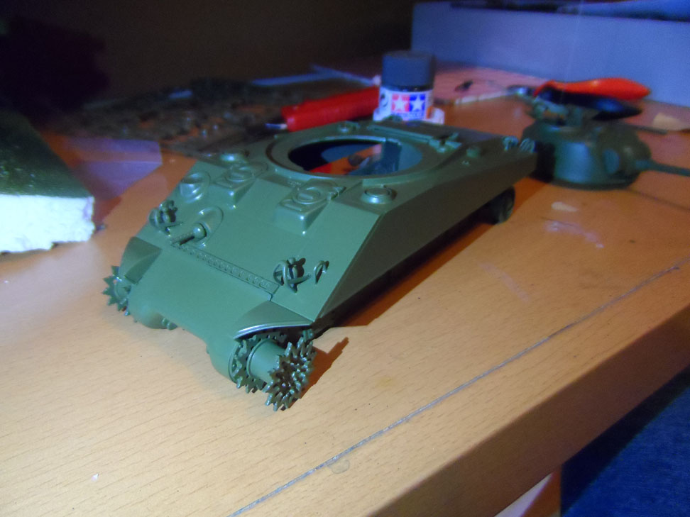 M4 Sherman late production Tamiya 1/35 - Page 2 842101SAM0386