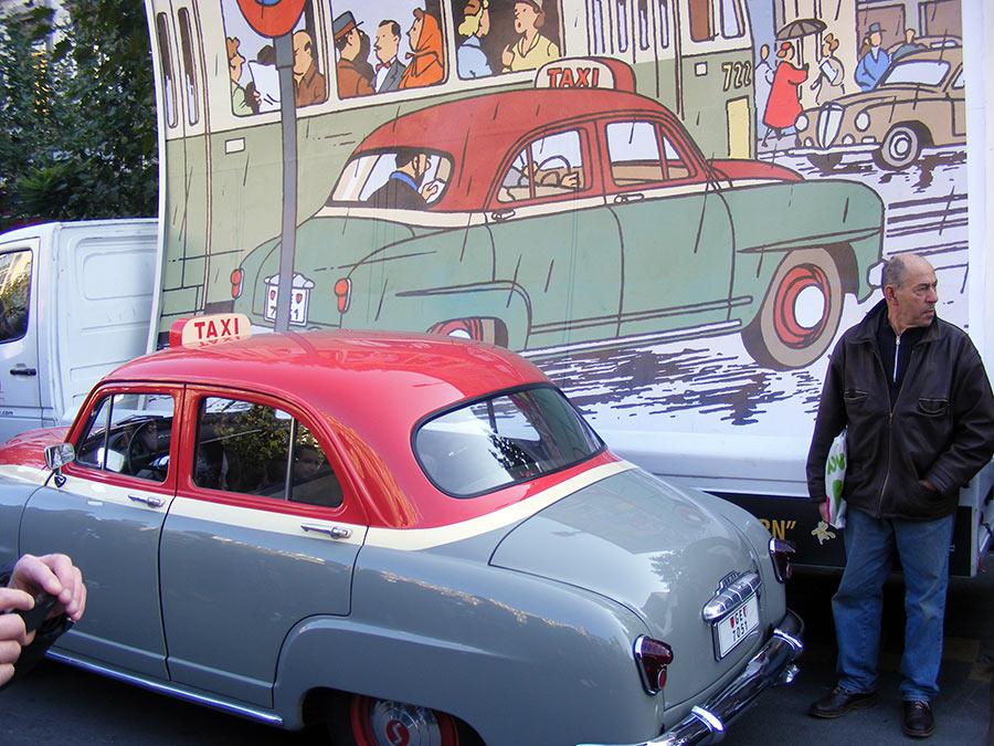 """Bruxelles côté BD  """"Tintin en automobile"""" - Page 2 844523DSCF6232"""