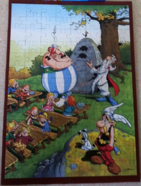 [Vente] puzzles, lot pièces échec asterix 844611classe