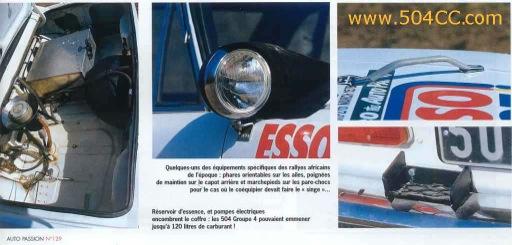 Peugeot 504 V6 Coupé Safari Rally 1978 844668ap5040009