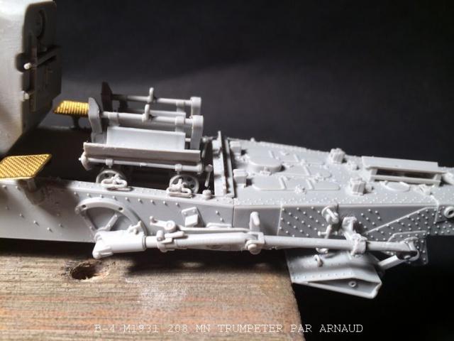un B-4 M1931 203 mn (le marteau de Staline trumpeter 1/35 845731B4016