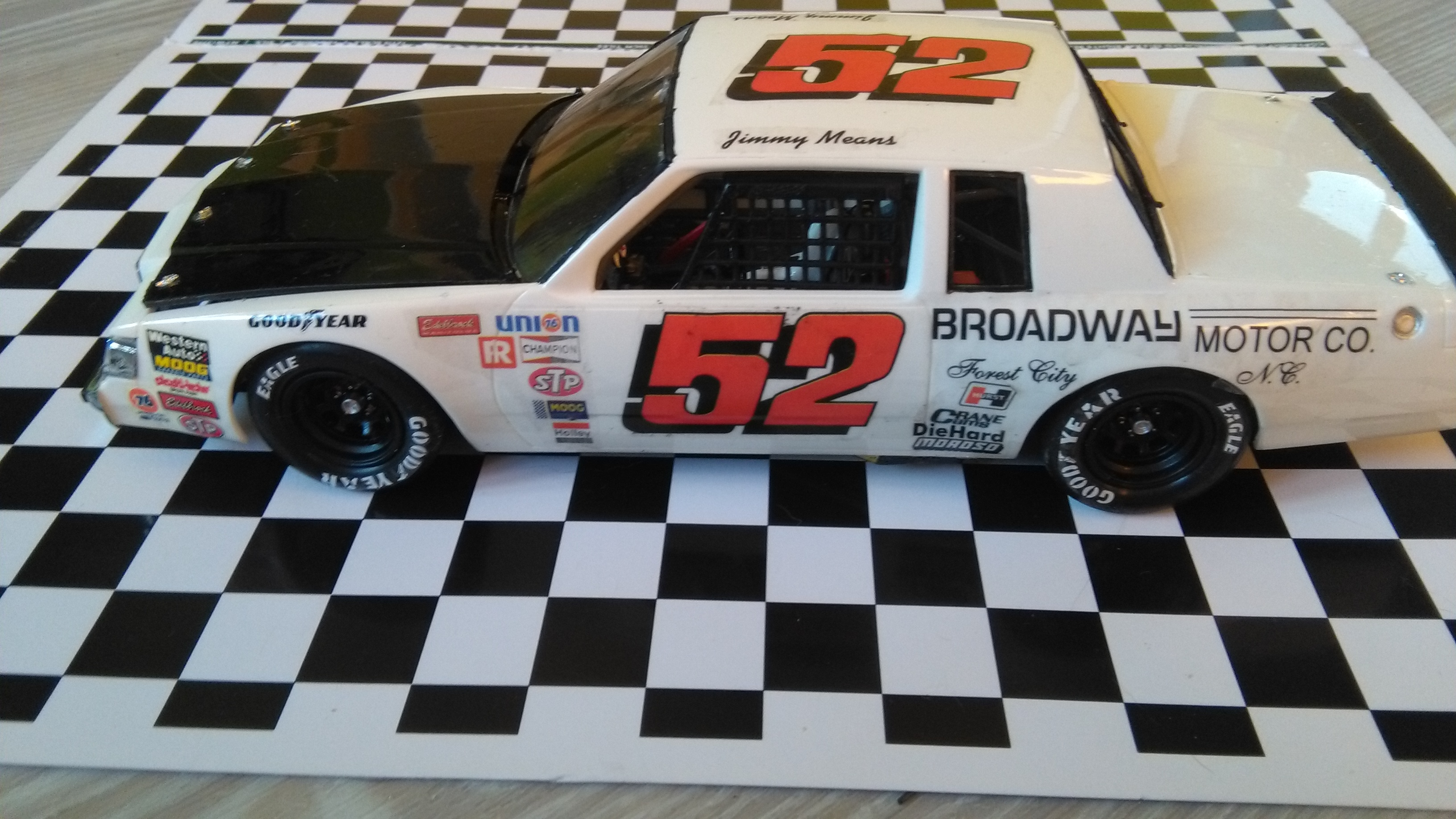 Buick Regal 1982 #52 Jimmy Means Broadway motor  846760IMG20170216083015