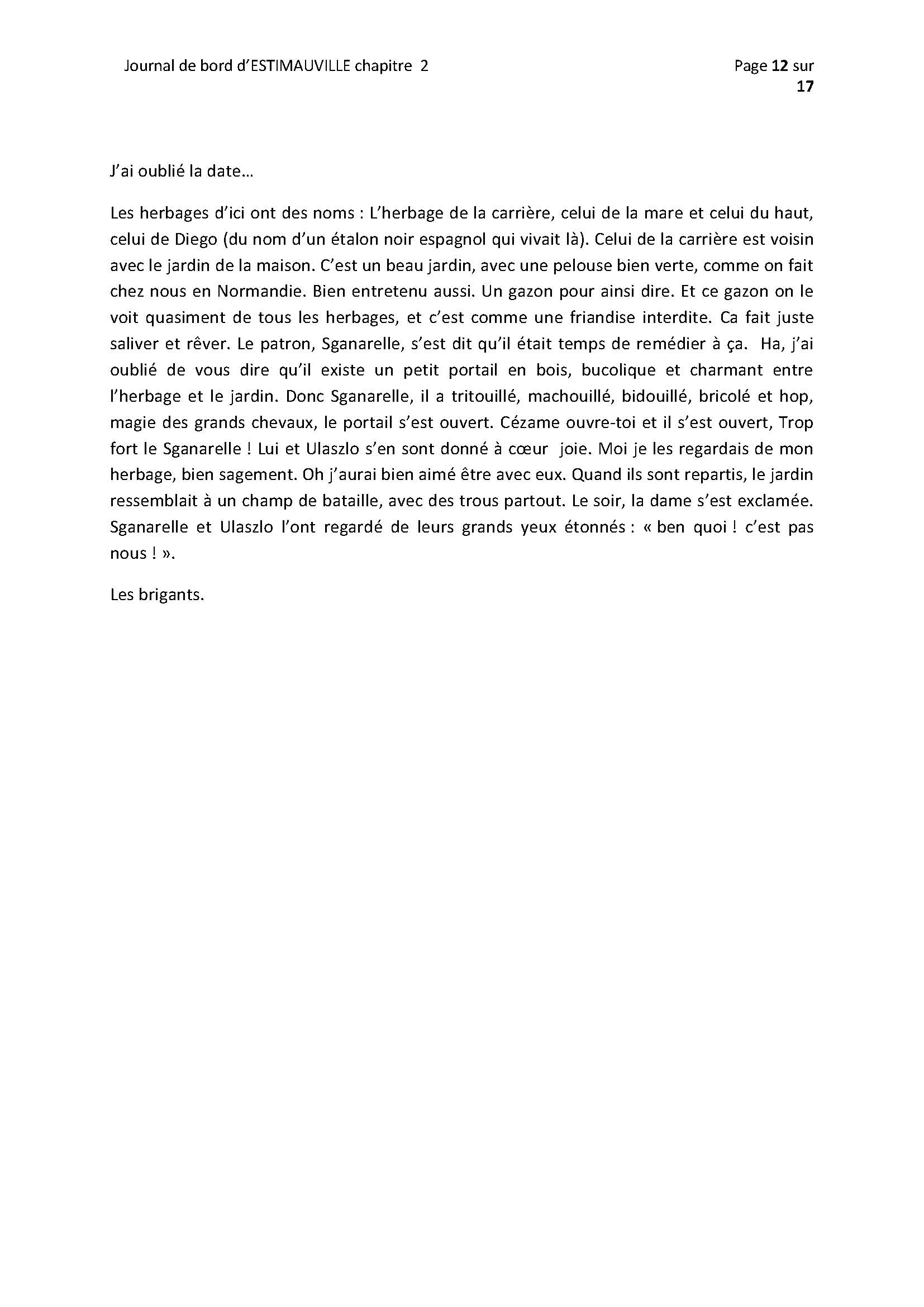 (dpt 76) ESTIMAUVILLE Pur sang Anglais, né en 2001, hongre, en FA chez Michèle76 - Page 5 848187FEVRIERPage12