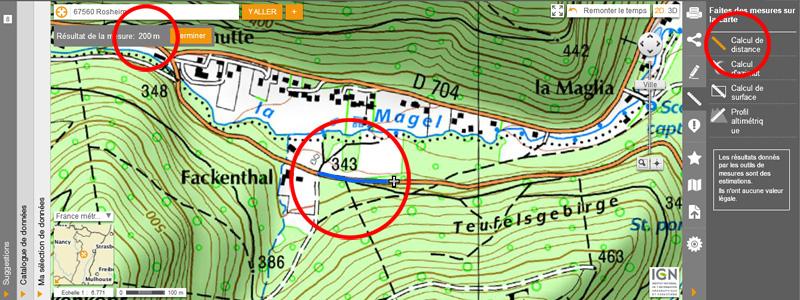 1976: le 20/07 à 21H30 22H -sphère lumineuse - Lieu dit Fackenthal (67)  - Page 2 8482231dFackenthalIGNdistance200m