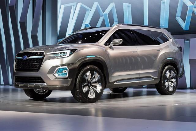 Subaru a dévoilé le concept VIZIV-7 SUV au salon Los Angeles 2016  849191motorshowliveconcept1