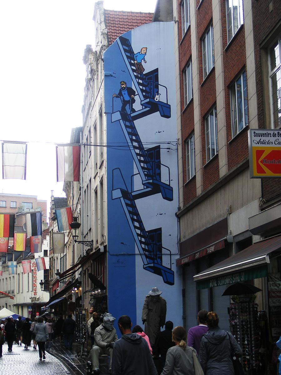 Bruxelles côté BD 2011  849291DSCF3770