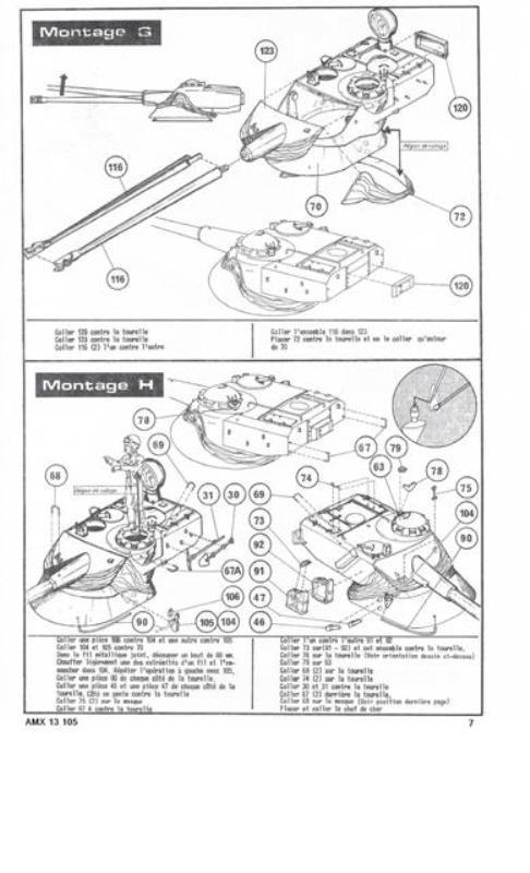 AMX 13 Canon de 105 [ Heller ] 1/35 84977013105007