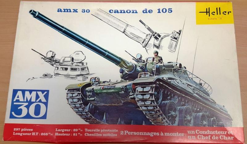 AMX 30 canon de 105 - (Réf. L810) 1/35 850932HellerAMX30105810000