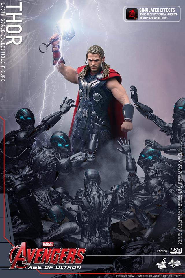 HOT TOYS - Avengers: Age of Ultron - Thor 851382102