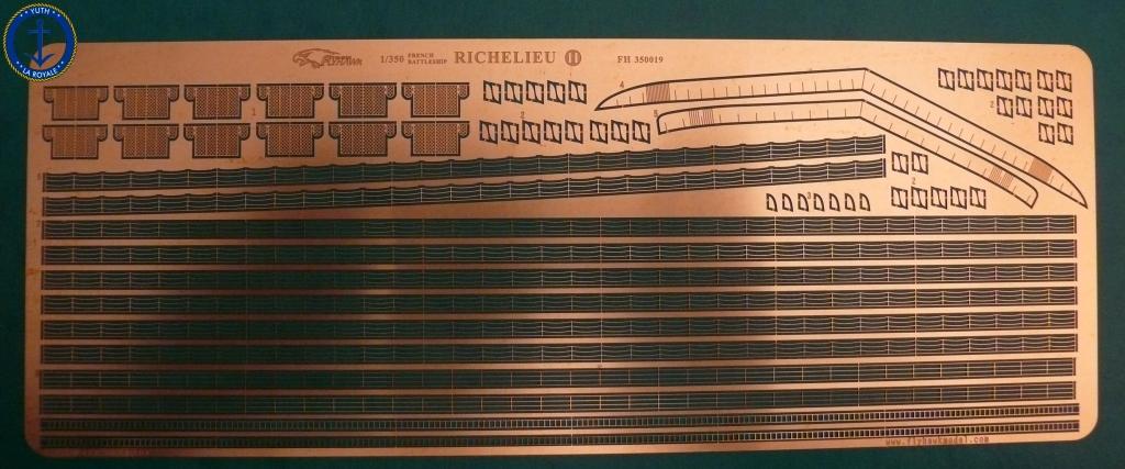 Set Richelieu 1/350 Super Detail FLYHAWK 851586Richelieuflyhawk0115