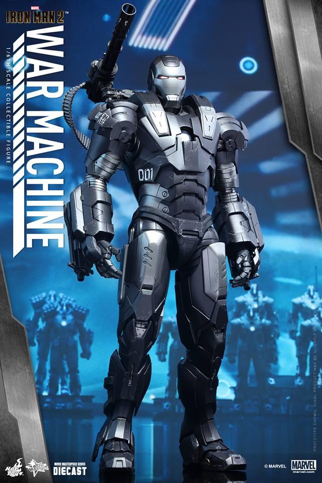 HOT TOYS - Iron Man 2 - War Machine Diecast 851896105