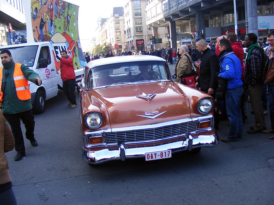 """Bruxelles côté BD  """"Tintin en automobile"""" 852940DSCF6194"""