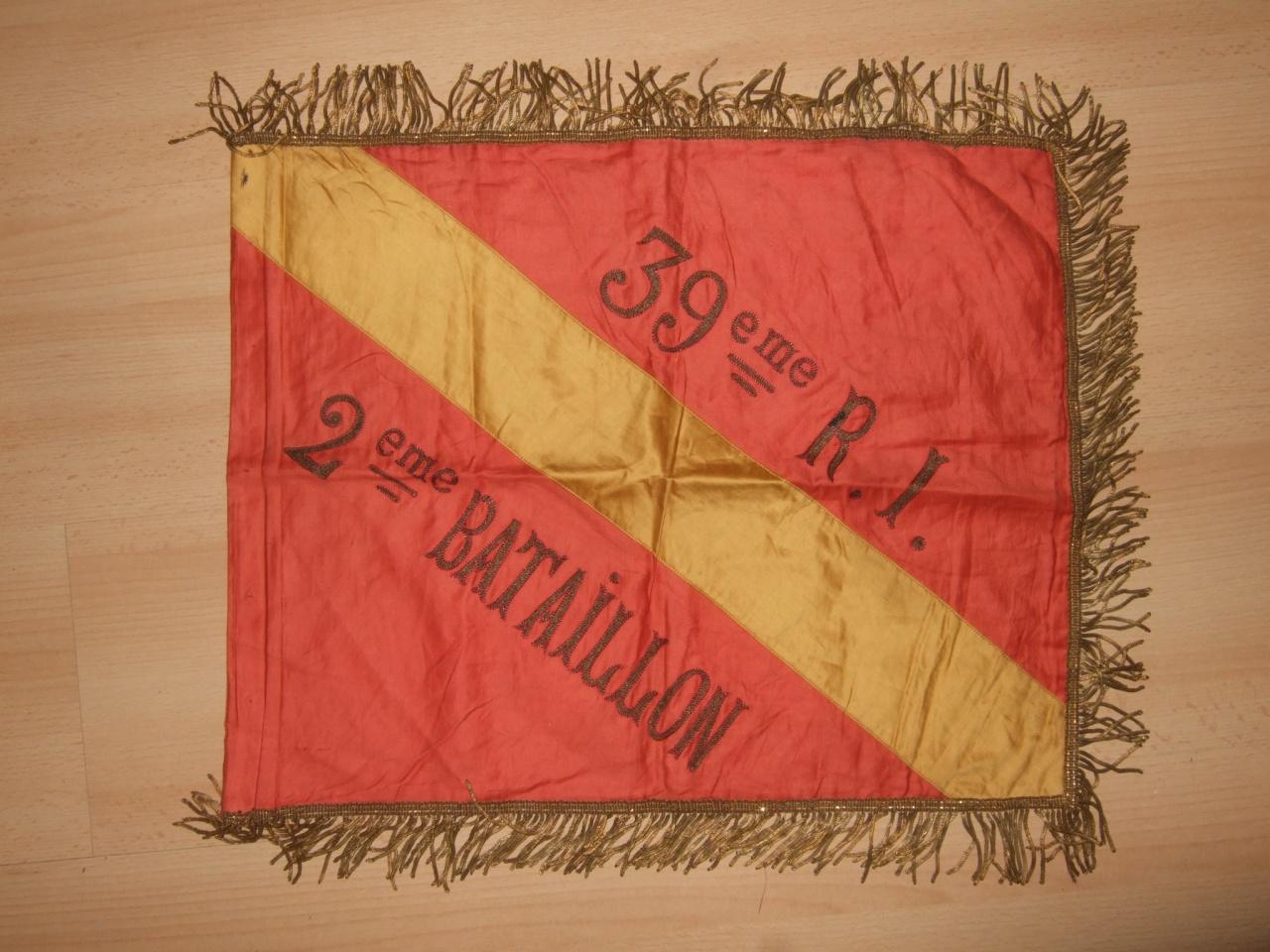 Fanion 39° RI - 2° Bataillon : Le souffle de l'Histoire 853538DSCF9313