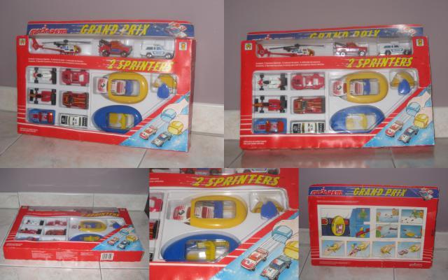 Lanceur de voiture Majorette Sprinter 853568SprinterMajoretteCoffretGrandPrixNeuf1985MOCVintageRARE10