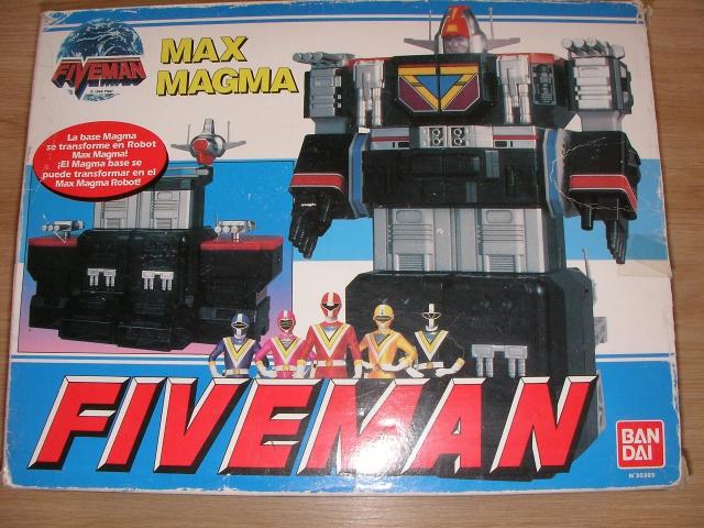 La gamme de jouets Fiveman - Bandai 853818SANY0010