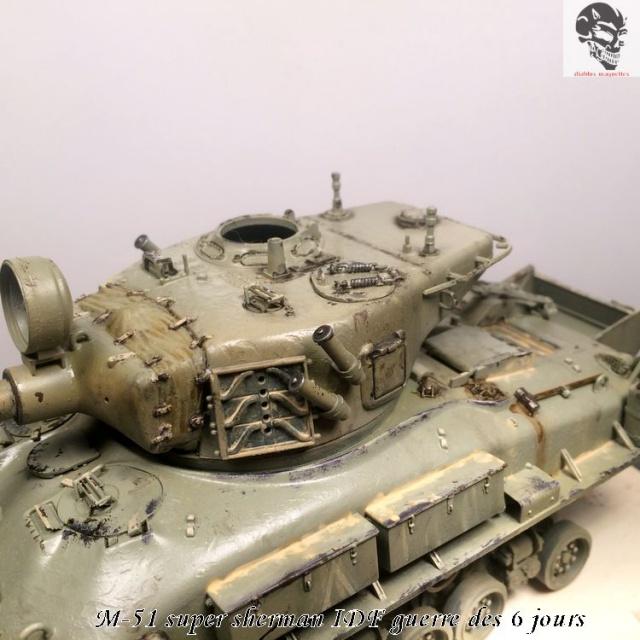 M-51 Super Sherman IDF - Academy 1/35 854217IMG4897