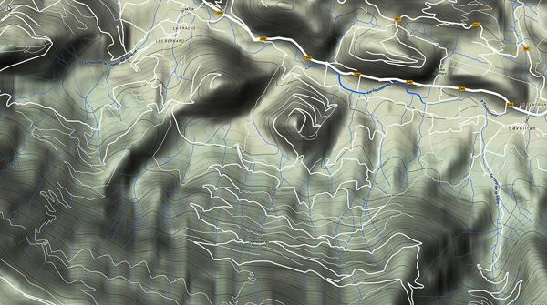 Carte de Terra incognita 85450817032015GoogleTerrain600px
