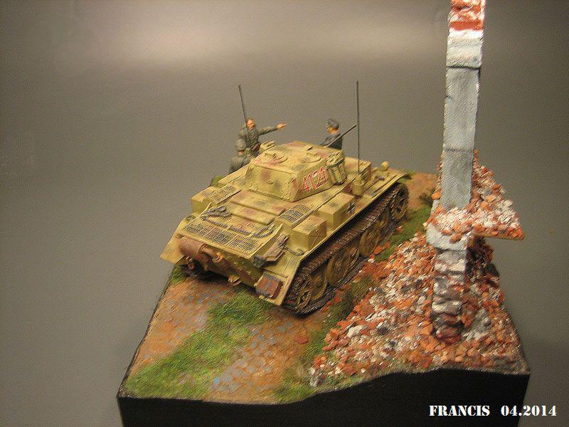 """Sdkfz 123  """" Luchs """"  ICM  1/35 855710Dio2902Luchs"""