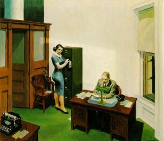 Couvertures d'Edward Hopper ! 85782014aOfficeatNight