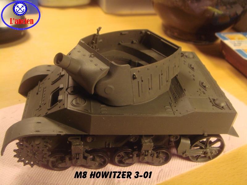 M8 US Howitzer  au 1/35 par l'ancien 857873m8301