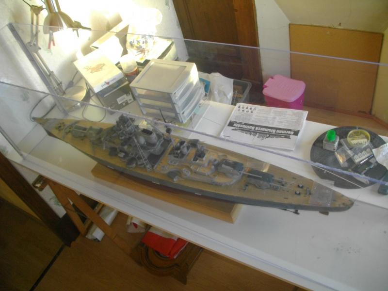 bismarck 1/200 the big maquette !! - Page 7 857887IMGP5971