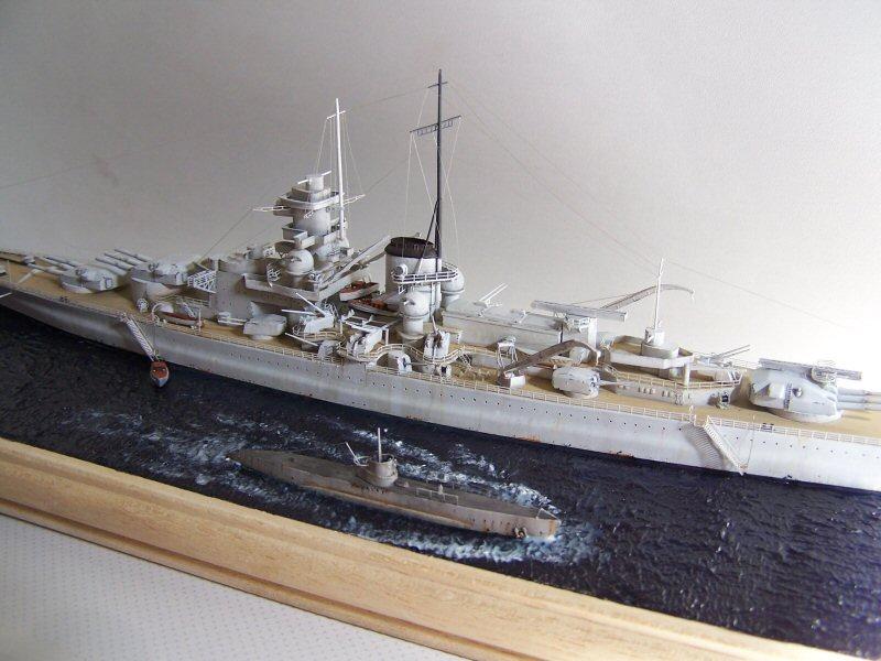 Dkm Scharnhorst 1938/39 airfix 1/600 - Page 5 858178Dkm_Scharnhorst_095