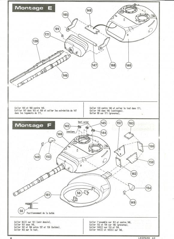 Char LEOPARD A2 - (Réf. 822) 1/35 858431HellerLopardA2822006