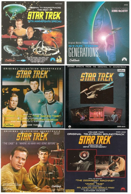 CD AUDIO STAR TREK 859794Startrekaudiocovers