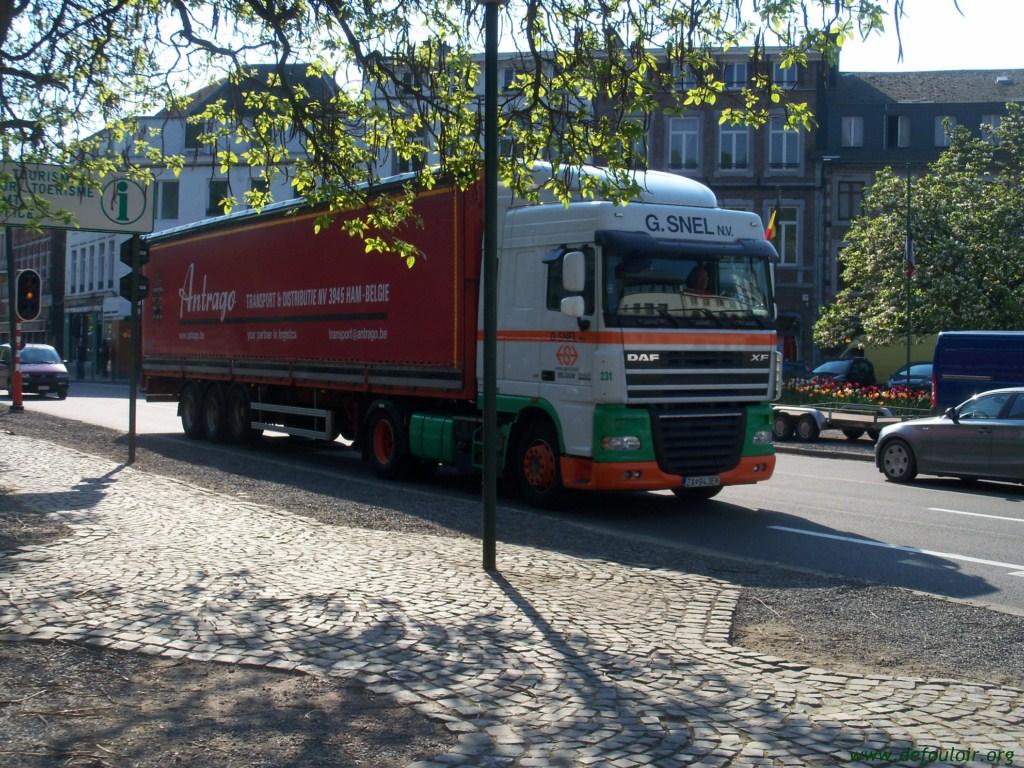 G Snel (Deinze + Ham , Belgique + Weert , Pays Bas) 8605810spacamion7