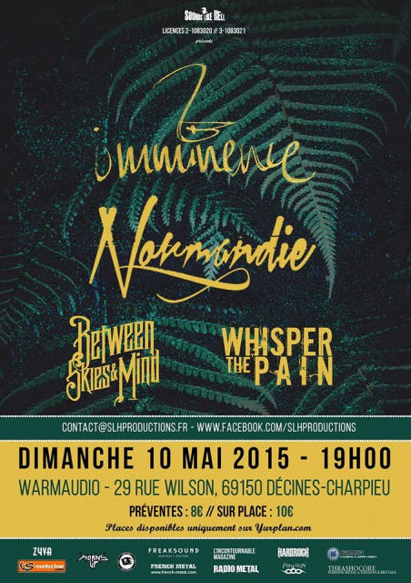 10.5 IMMINENCE + NORMANDIE + Guests @ Lyon 862039111338597744173793317471500463668618943626o