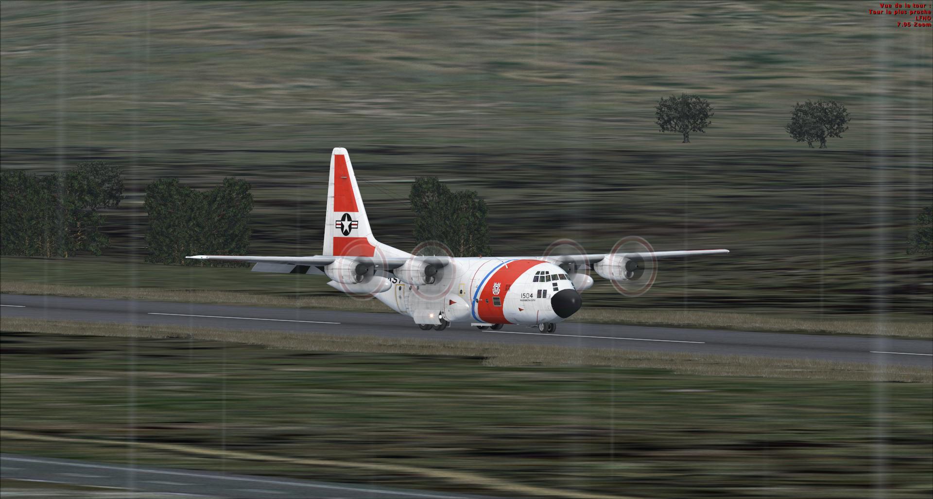 Compte rendu vol réseau en c130 captain sim 8620982014113151141444