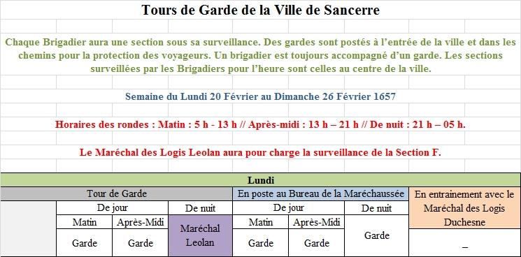 [RP] Plannings des Tours de Gardes de la Ville de Sancerre 8623251Planning