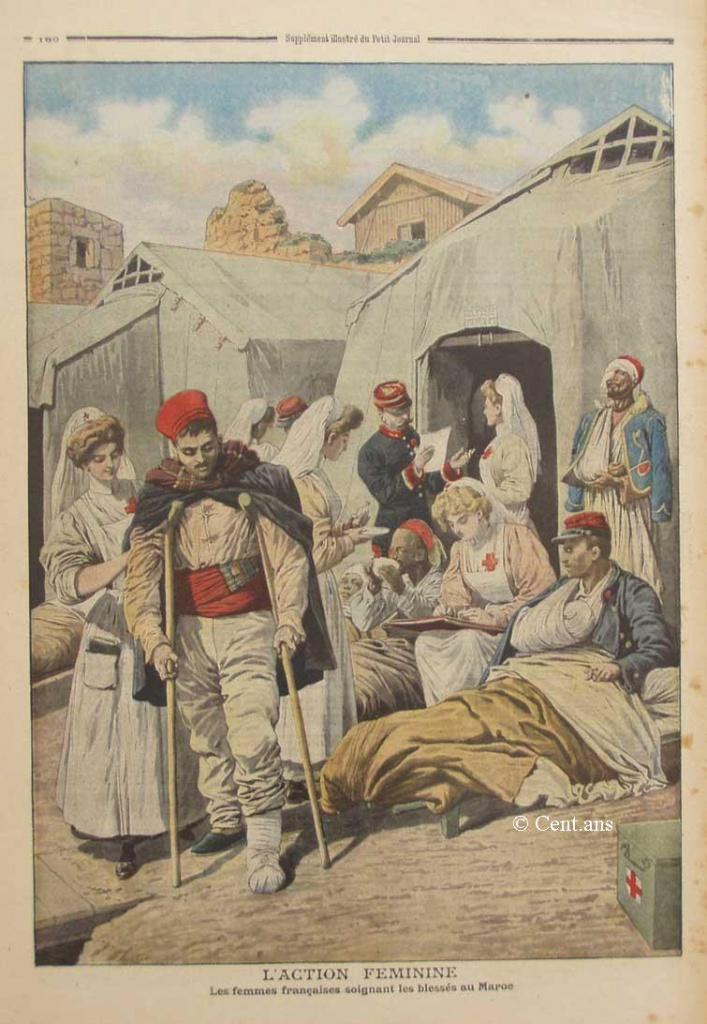 صفحات من تاريخ المغرب الحديث من خلال Le Petit journal illustré 862335pj91317051908b