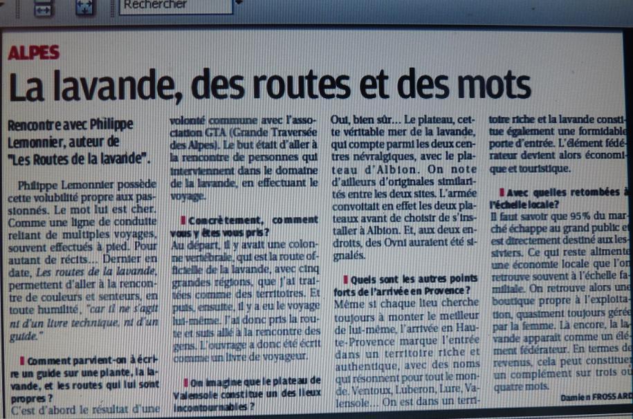 IL ETAIT UNE FOIS ..VALENSOLE - Page 3 862600P1170286