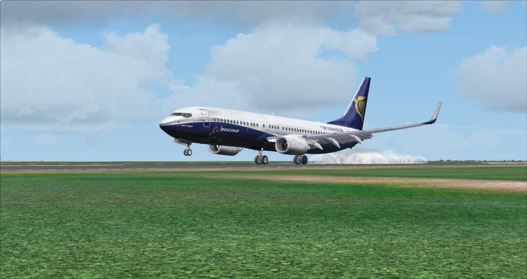 [FSX] Ryanair B737NG sur Montpellier 8640002014617195923448