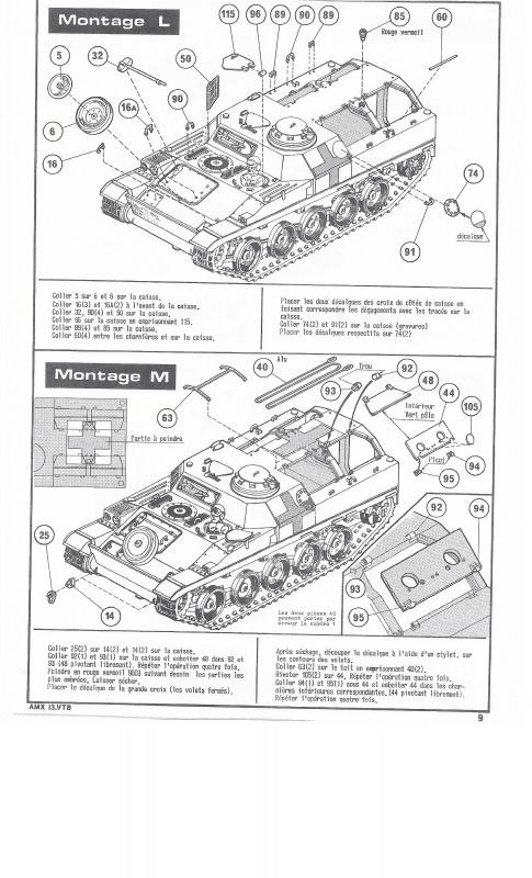 AMX 13 VTB - (Réf. L787) 1/35 865311VTB009