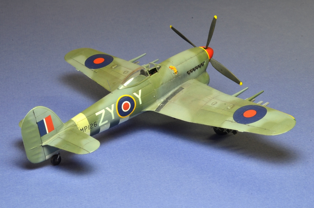 Hawker Typhoon Airfix 1/72 865505Typhoon7