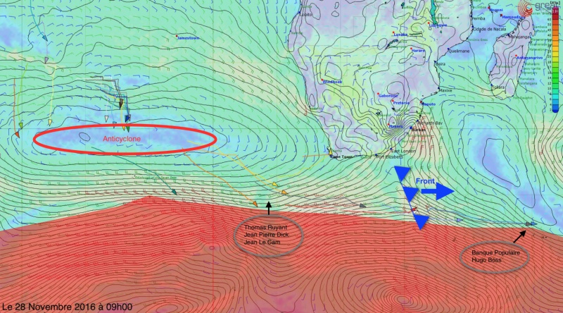 L'Everest des Mers le Vendée Globe 2016 - Page 5 865603analysemeteole28november2016r16801200