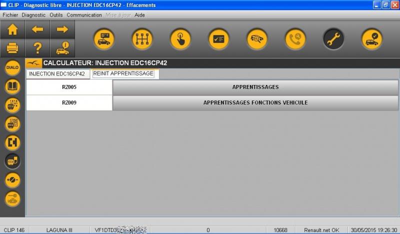 Injection Réinitialisation des apprentissages 865873INJECTIONAPPRENTISSAGE