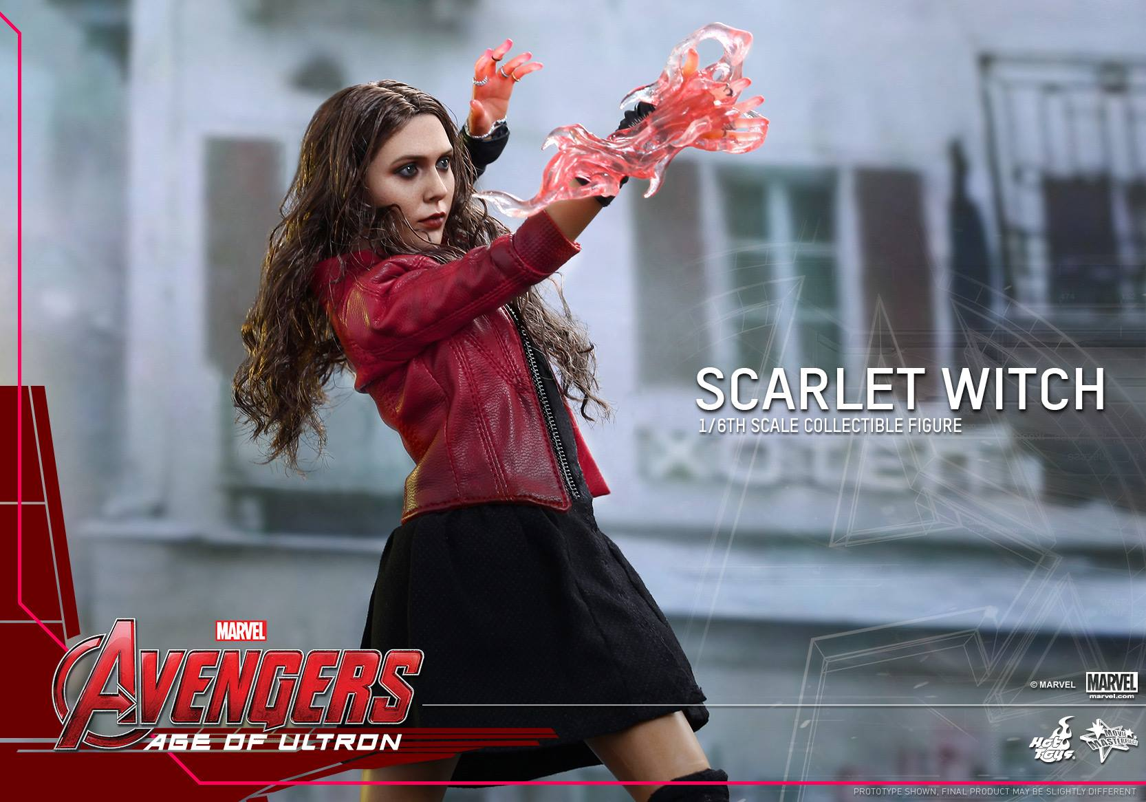 HOT TOYS - Avengers: Age of Ultron - Scarlet Witch 866817107