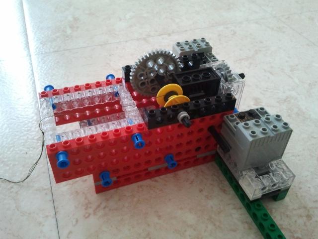 Motorisation rail pour TimeLapse en légo 86848920120210095809